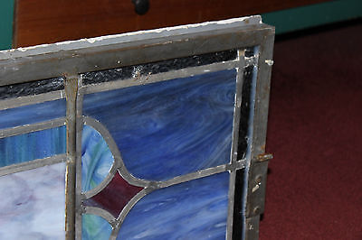 Antique Religious Church Stained Glass Window-Dedicated-Architectural Window 9