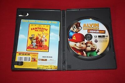 Alvin And The Chipmunks: The Squeakquel (Dvd, 2010) Jason Lee, David Cross 2