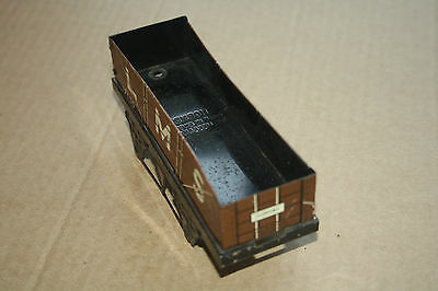A beautiful  OLD TINPLATE TOY as  DESK or BOOKCASE ORNAMENT Hornby 'O' gauge cm 2