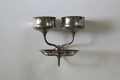 antique bathroom cup soap holder | art brass co vtg bath deco cup soap holder 5