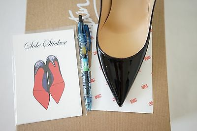 70c50d5a95fd ... Crystal Clear 3M sole protector guard for Christian Louboutin red  bottom heels 2