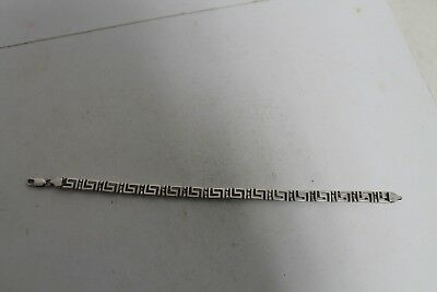 Antique Authentic Hand Made Charming Silver  Woman Chain Bracelet. 2