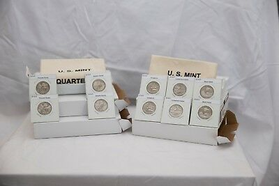 2018 PD America The Beautiful Quarters(ATB) 10 Coin Set-Mint Bags-Free Shipping 2