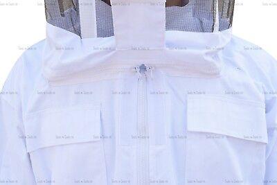 Pro Heavy Duty Cotton Beekeeping Suit Unisex Bee Suit Beekeepers Large Size