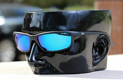 16ef7d6597 ... Polarized IKON Replacement Lenses For Ray Ban RB4034 (61MM) Ice Blue  Mirror 2