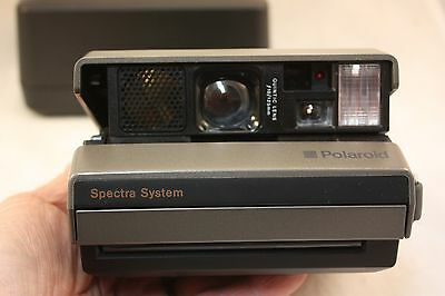vintage polaroid spectra instant camera system kit with hard case rh picclick com polaroid spectra system se manual polaroid spectra se manual pdf