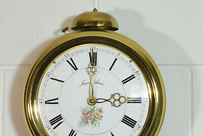 Old Comtoise Wall Clock Dutch Movement Vintage Old Clock 2