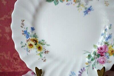 "Royal Doulton Arcadia Green Backstamp Set of 2 Side, Bread & Butter Plates, 6.5"" 5"