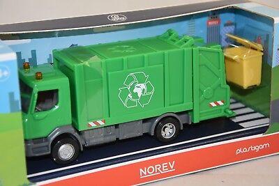 Camion RENAULT TRUCKS D 2.1 eboueur 1//43 Poubelle