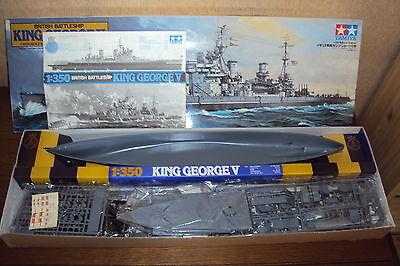 JSC 024 Britisches Schlachtschiff KING GEORGE V 1:400  ohne//mit Lasercutteilen
