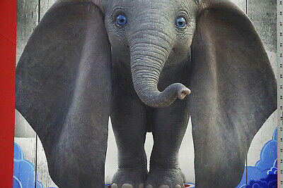 H235 Dumbo 2019 Movie Fantasy Print Alan Arkin Hot Fabric Poster 12x18 24x36