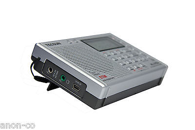 TECSUN PL-310ET (SILVER Color) PLL DSP Multi Band Radio << ENGLISH VERSION>>