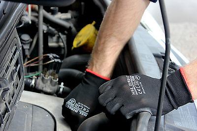 24 Pairs Nylon Pu Coated Safety Work Gloves Gardening Builders Mechanic Grip 2