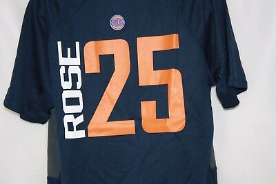 pretty nice f756d ddced NEW BOYS KIDS Youth MAJESTIC New York NY KNICKS Derrick Rose #25 Polyester  Shirt