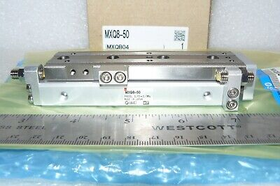 SMC MXQ8L-50 pneumatic slide ONE NEW
