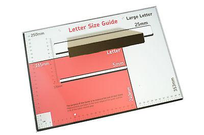 5 X C6 A6 Boîte Lettres Postal Pip Lettre Large Taille: 16cm X 12cm X 2.2cm 2