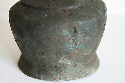 ANCIENT GREEK ETRUSCAN BRONZE FLASK 4/3rd CENTURY BC 5