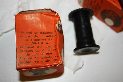 Vintage Romanian Bakelite Door Viewer Spy Unused In A Box 7