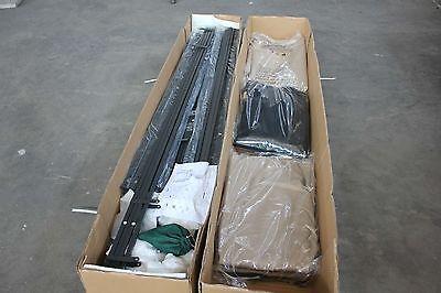 Gazebo 3X3 Giardino In Alluminio Telo Antipioggia Pvc Zanzariera Teli Antivento 5