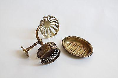 antique soap holder tumbler cup | silvers soap bathroom vtg deco victorian 10