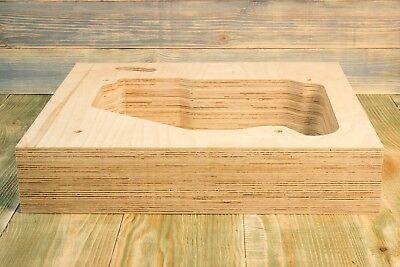 Plinth for Lenco B52 B 52 Birch plywood.