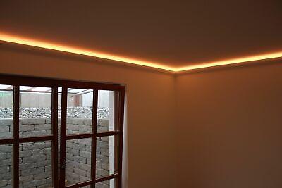 2 Meter Led Leisten Stuck Profile Indirekte Beleuchtung Pu Lichtundurchlassig Eur 9 60 Picclick Fr