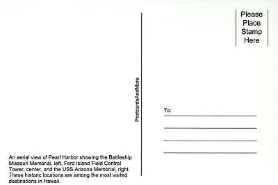 USS Missouri Battleship, USS Arizona Memorial Pearl Harbor, Hawaii HI - Postcard