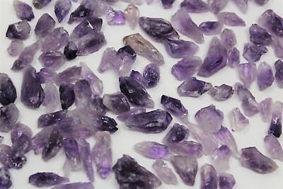 1000 Carat Bulk Lot Natural Amethyst Quartz Crystal Points (20-30 pcs) 3