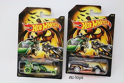 Hot Wheels Halloween 2019 Edition Set Of 6 Cars In Stock Now! Holiday Series 2