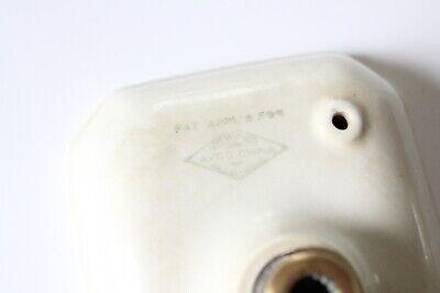 antique faucet soap holder dish tray   avco sink porcelain victorian soap vtg 3