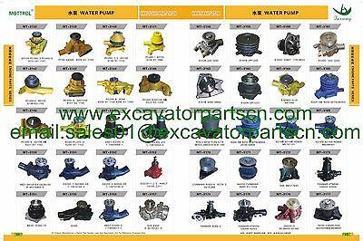 8-97254148-1 8-94170341-0  WATER PUMP FITS ISUZU 4LE1 engine  EX50 EX55 S035 S30 12