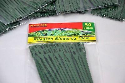 160 Pflanzenbinder Pflanzenhalter Blumenbinder Kabelbinder Kunststoff 23cm