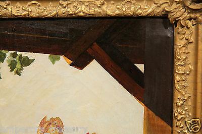 Early 20th Century European Flower Still Life Oil Painting 9