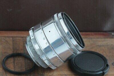 🎥 Excellent Helios 44 2/58 M39 M42 Silver Bokeh portrait Lens Perfekt seller 6