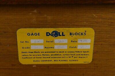 "DoAll 5-20"" Rectangular Steel Large/Long Gage Block Set - NN39 2"