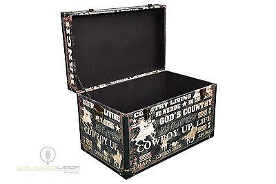3er Set Kisten Cowboylook Aufbewahrung Box Kiste Truhe Wohnen Vintage NEU & OVP 7