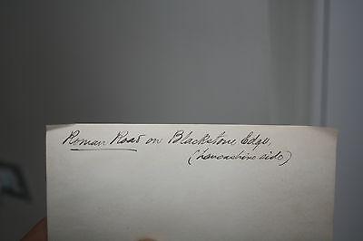 BLACKSTONE EDGE  ROMAN ROAD  PHOTO  1901   150 X 100 mm 2