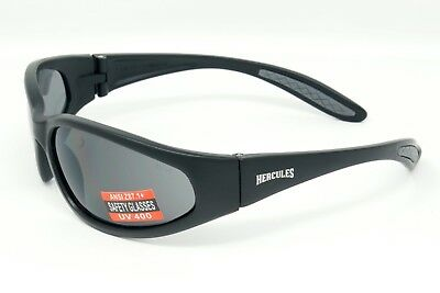 Unbreakable wraparound motorcycle sunglasses / Biker glasses Inc Pouch & Postage 6