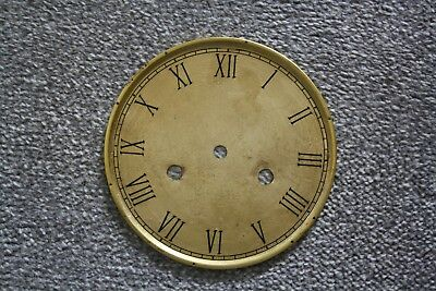 """Vintage 4.5"""" clock face/dial """"Thin"""" Roman numeral number renovation wet transfer 4"""