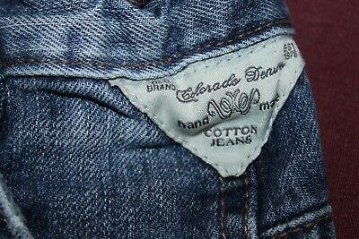 Hose kinder MARKEN Jeans gerissen ORIGINAL CLD 1976 COLORADO Gr. 110 TOP 2