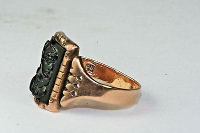 Victorian antique mens 14k gold black cameo ring size 7 29500 victorian antique mens 14k gold black cameo ring size 7 aloadofball Choice Image