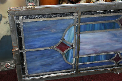 Antique Religious Church Stained Glass Window-Dedicated-Architectural Window