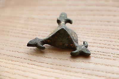 Rare Viking Bronze Belt decoration/plate - 9-11 AD 6