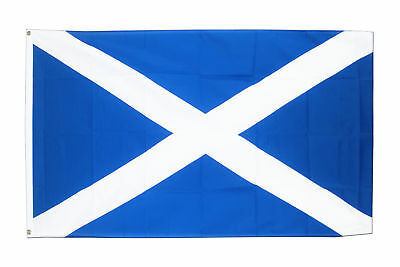 St Andrews Cross FLAG 5' x 3' Navy Blue Saltire Scotland Scottish Flags free del 2