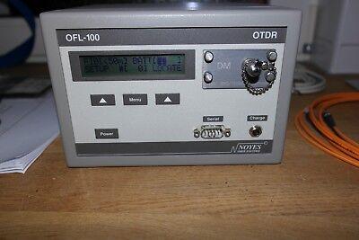 OFL100-DM-ST USED NOYES OFL 100 DM OTDR Optical Time Domain Reflectometer MODEL