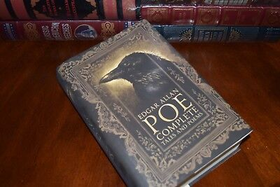 Complete Tales & Poems by Edgar Allan Poe Raven New Collectible Hardcover Gift 5