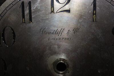 Antique Condliff & Co Liverpool clock 3