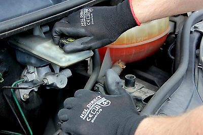 24 Pairs Nylon Pu Coated Safety Work Gloves Gardening Builders Mechanic Grip 5