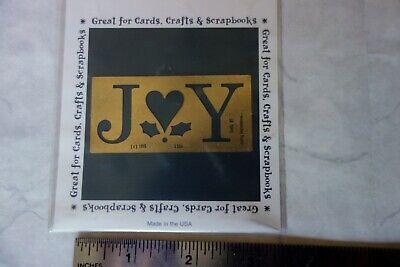 Lasting Impressions Brass Stencils Many to Choose From XMAS,FALL,SNOWMAN,PUMPKIN