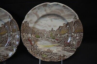 Johnson Brothers Olde English Countryside Pair of Dinner Plates 3